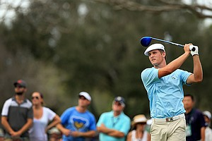 Amateur Bryson DeChambeau during the Arnold Palmer Invitational at Bay Hill Club and Lodge.