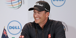 Adam Scott rehashes college days; struggles to recall his past at Austin CC