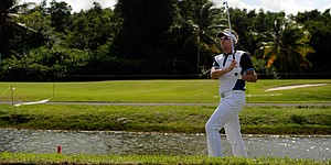 Poulter vaults into lead at Puerto Rico Open