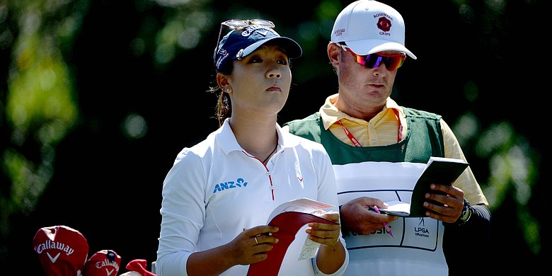 Lydia Ko at the LPGA Kia Classic.