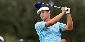 Bryson DeChambeau plays Cobra irons at Georgia Cup
