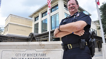 Police chief retires after 35 years in Winter Park