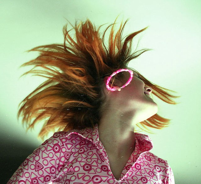 'Electric' hair can be tamed the same way as staticky clothes.