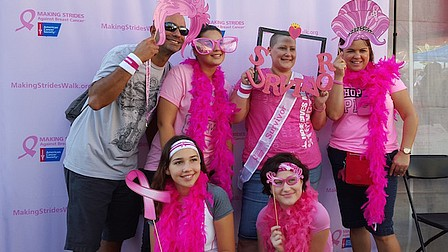 Making Strides Against Breast Cancer walk at Lake Eola this month