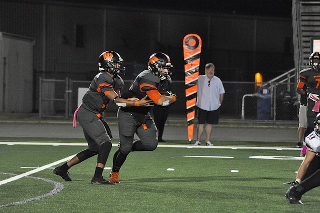 The Winter Park Wildcats got their first win at Showalter Field this season on Friday, beating Olympia 26-12.
