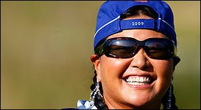 Jeff Rude chats with Solheim Cup star Christina Kim about life and laughter on the LPGA.