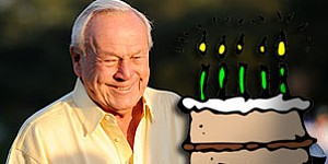 Happy 80th birthday, Arnie!