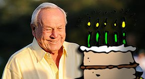 Arnold Palmer celebrates his 80th birthday Sept. 10. PGA Tour players and golf writers recall their favorite memories of The King.