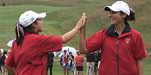 Curtis Cup: Recap of USA's Day 2 rally