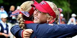 Curtis Cup: Cheers, tears for Team USA