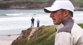 Oklahoma State All-American Morgan Hoffmann takes Golfweek.com on a tour of Pebble Beach&#39;s 10th hole and explains what it means to play in the U.S. Open.