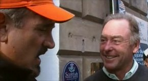 Jeff Rude strolls the most famous corner in St. Andrews, and arguably in golf.