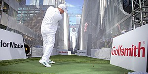 "TaylorMade and Golfsmith ""White Out"" Manhattan"