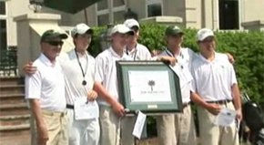 After two rounds, the individual title at the Palmetto High School Championship came down to a playoff. Charlotte Country Day took the team title.