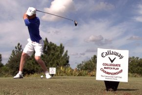It all came down to two schools battling it out at the Callaway Collegiate Match Play Championship at The Concession Golf Club in Bradenton, Fla.: Duke, looking to repeat as champions and Arkansas looking for their sixth win of the season.