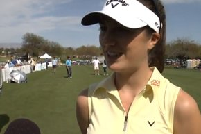 Golfweek.com's Beth Ann Baldry teams up with FoxSports.com to talk to Sandra Gal just before the 2012 Kraft Nabisco Championship.