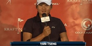 Kraft Nabisco Championship 2012: Yani Tseng on Tiger Woods