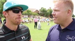 Lance Ringler interviews Hunter Mahan at the Under Armour/Hunter Mahan Championship 