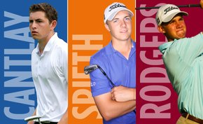 UCLA's Patrick Cantlay, Texas' Jordan Spieth and Stanford's Patrick Rodgers named finalists for the 2012 Hogan Award.
