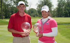 Our Julie Williams breaks down the Junior PGA titles won by Robby Shelton (boys) and Ariya Jutanugarn (girls) at Sycamore Hills in Ft. Wayne, Ind.