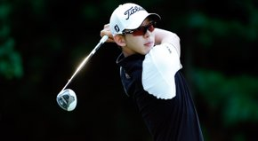 Deutsche Bank leader Seung-Yul Noh talks about his sizzling round on Friday.