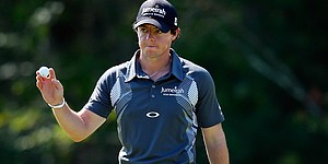 Rory McIlroy talks about taking Deutsche lead