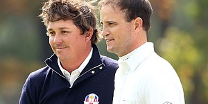 Johnson, Dufner on their 3-and-2 victory