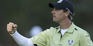 Nicolas Colsaerts on his nine birdies and eagle