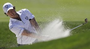 Rory McIlroy talks about his dramatic 2-and-1 win over Keegan Bradley.