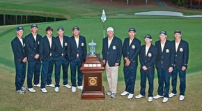 Georgia Tech coach Bruce Heppler talks about his team's dramatic win at the U.S. Collegiate.