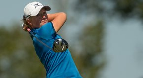 LPGA Tour star Stacy Lewis shows off her swing from multiple angles.