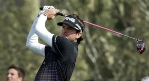Our David Dusek spent time in the Ping trailer learning how Bubba Watson likes his driver to be gripped.