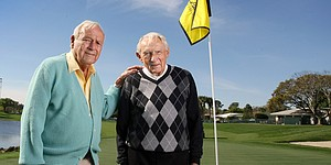 Bay Hill: Story time with Arnold Palmer & Dow Finsterwald