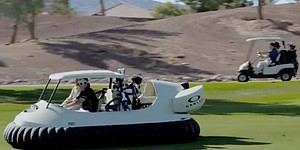 Video: Bubba shows off Hovercraft golf cart
