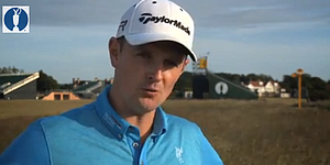 VIDEO: Justin Rose looks ahead to Open Championship at Muirfield