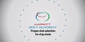 VIDEO: Club selection on chip shots, Marriott Golf Academy