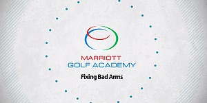 VIDEO: Proper arm position, Marriott Golf Academy