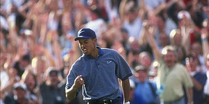 VIDEO: Tiger Woods talks about ace at Phoenix Open