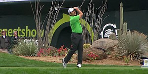 VIDEO: Francesco Molinari aces 16th hole at Phoenix Open