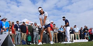 VIDEO: Lexi Thompson's swing from the PGA Show