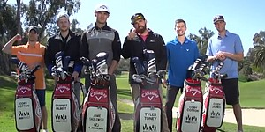 VIDEO: Callaway Golf's long drive trick shots