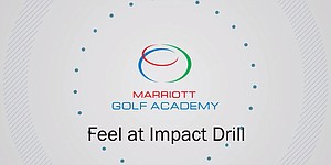 VIDEO: Marriott Golf Academy, impact drill