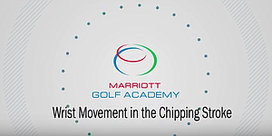 VIDEO: Marriott Golf Academy, chipping drill