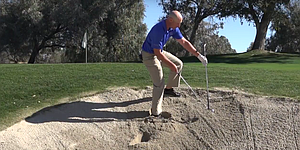 VIDEO: Marriott Golf Academy, buried bunker shot